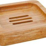 Bamboe zeepbakje vierkant
