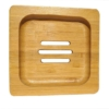 bamboe zeepbakje vierkant zeep CeD