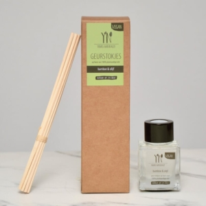 Geurstokjes Bamboe olijf